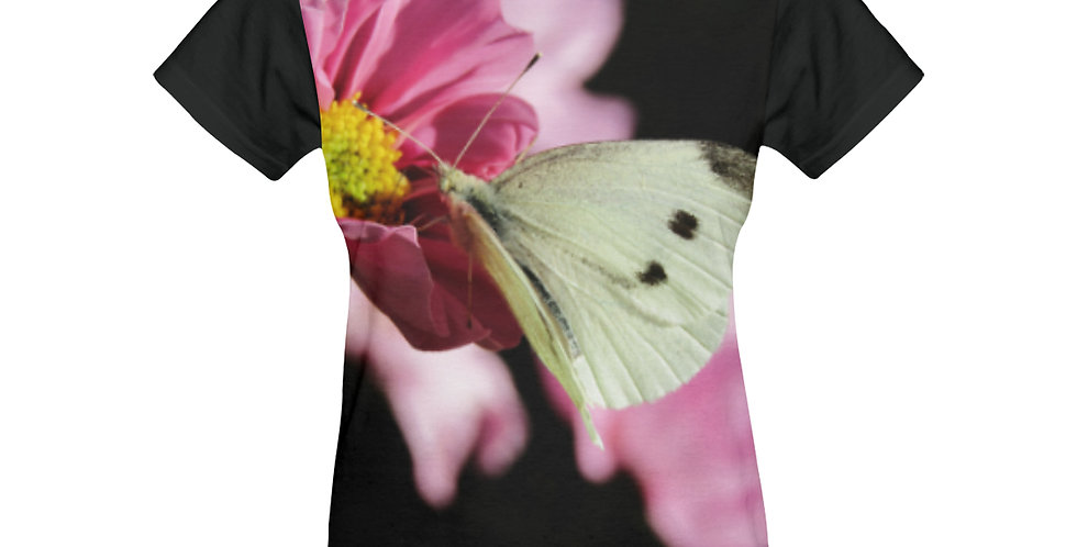 White Butterfly - T-shirt