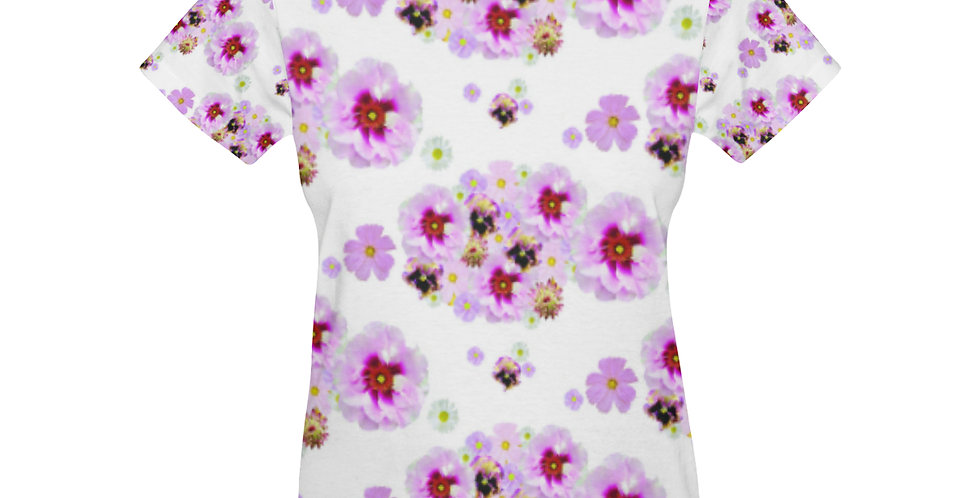 Cotton Candy Floral - T-shirt