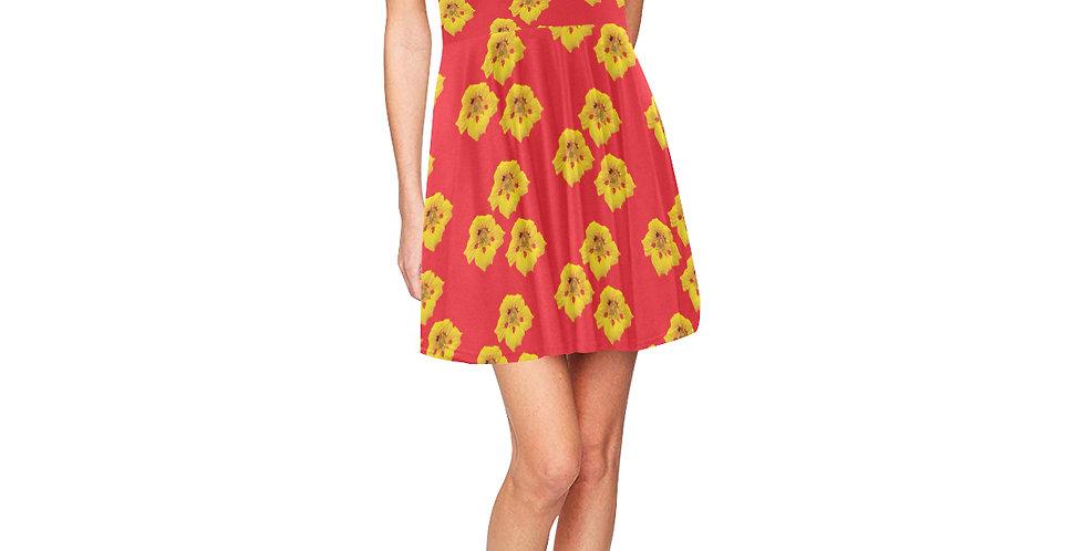 Ladybug Nasturtium - Skater Dress