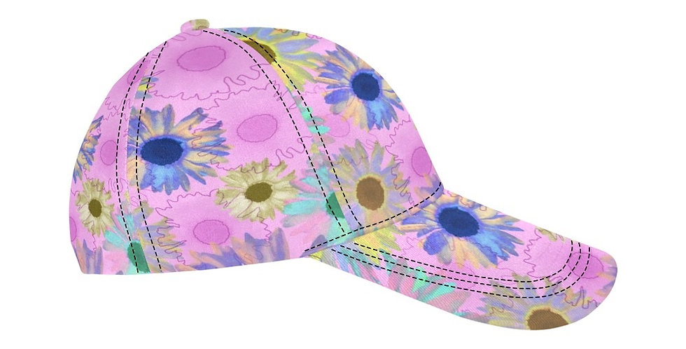 Wildflower Soft Pink - Baseball Cap