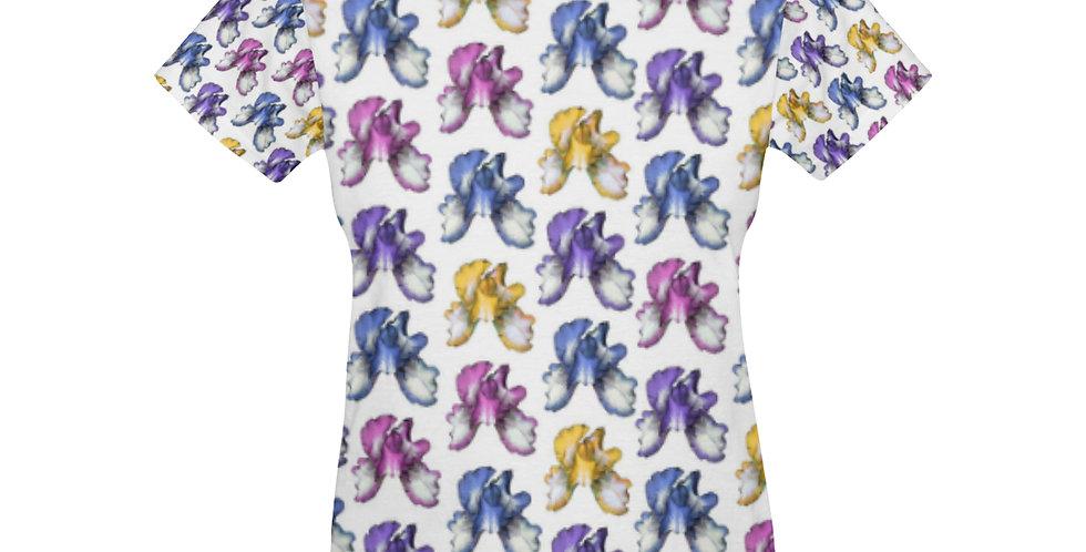 Rainbow Iris (small) - T-shirt