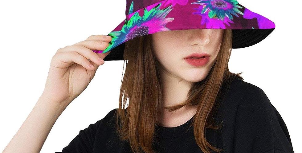 Strawflower Sizzle Pink - Bucket Hat