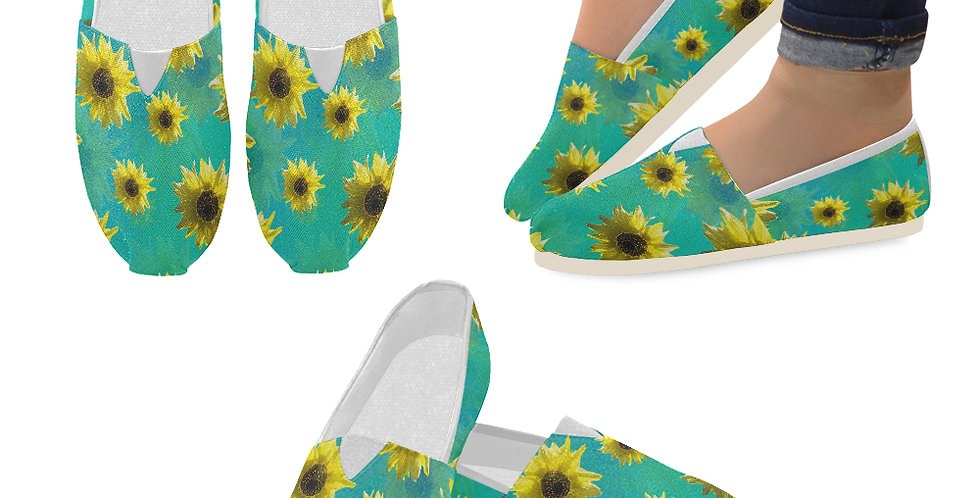 Sunflower - Slip On Canvas Shoes