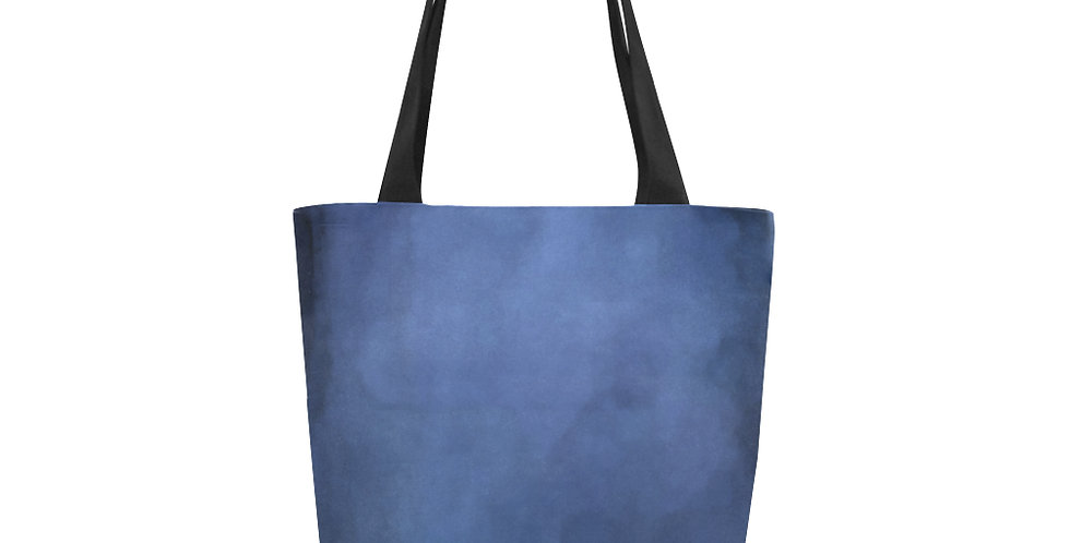 Rainbow Iris Washed Blue - Tote Bag