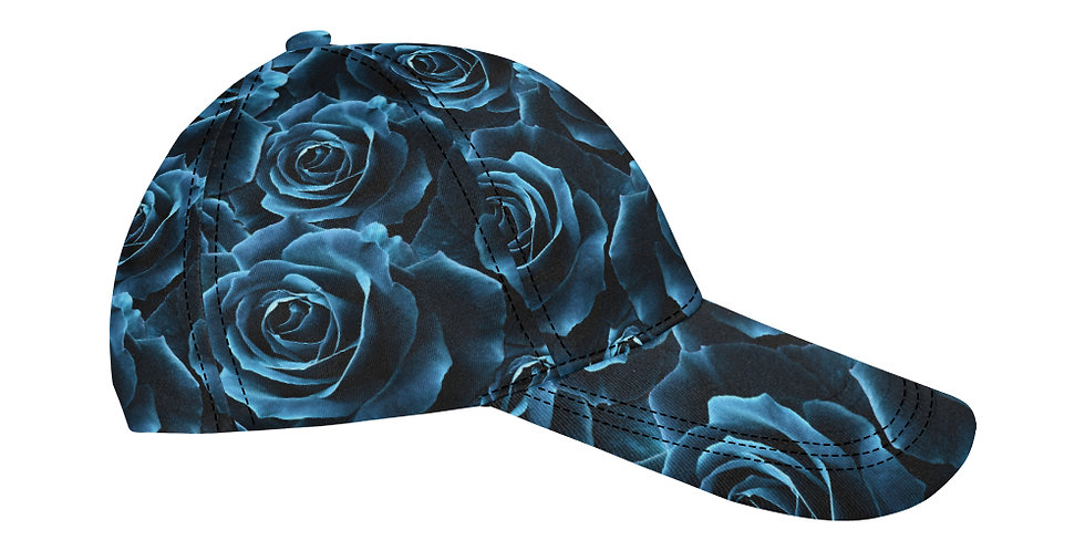 Velvet Rose Blue - Baseball Cap