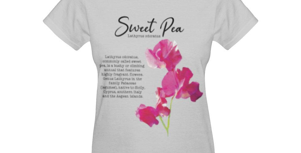 Sweet Pea Botanical - T-shirt