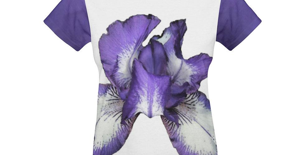 Rainbow Iris Purple - T-shirt