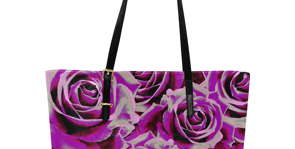 Gypsy Rose Party Pink - Large Tote Bag