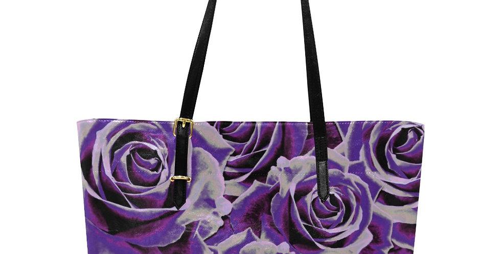 Gypsy Rose Purple Haze - Large Tote Bag