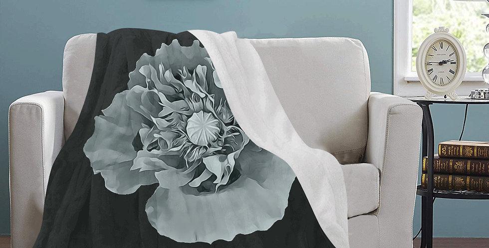 Botanical Poppy - Blanket