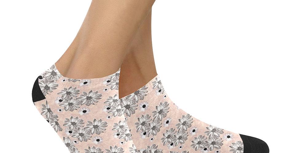 Floral Blush - Ankle Socks