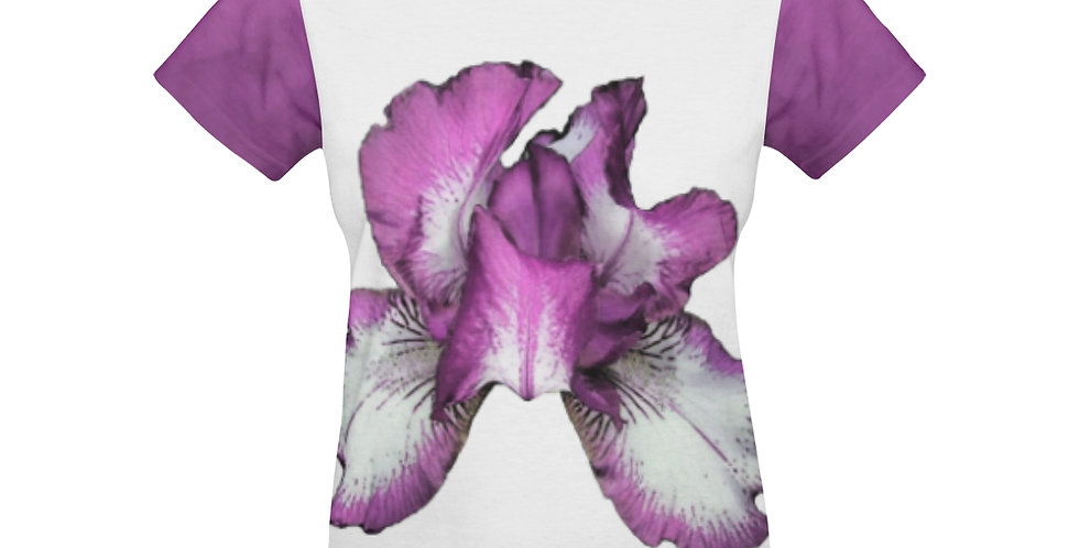 Rainbow Iris Pink - T-shirt