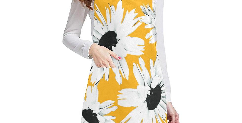 Daisy Love Yellow Apron - Adjustable