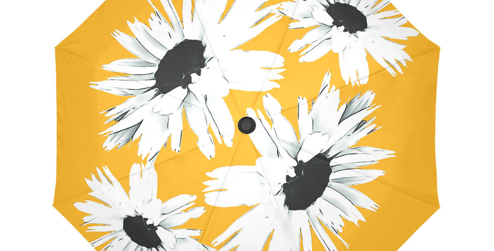Bunch of Daisies Yellow - Botanical Umbrella