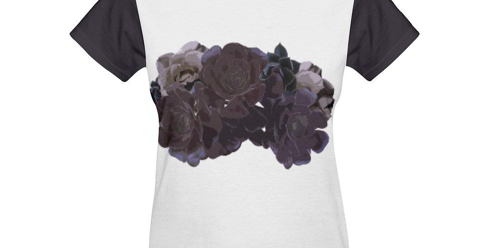 Succulent Roses - T-shirt