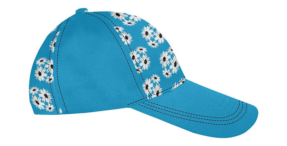 Bunch of Daisies Blue - Baseball Cap