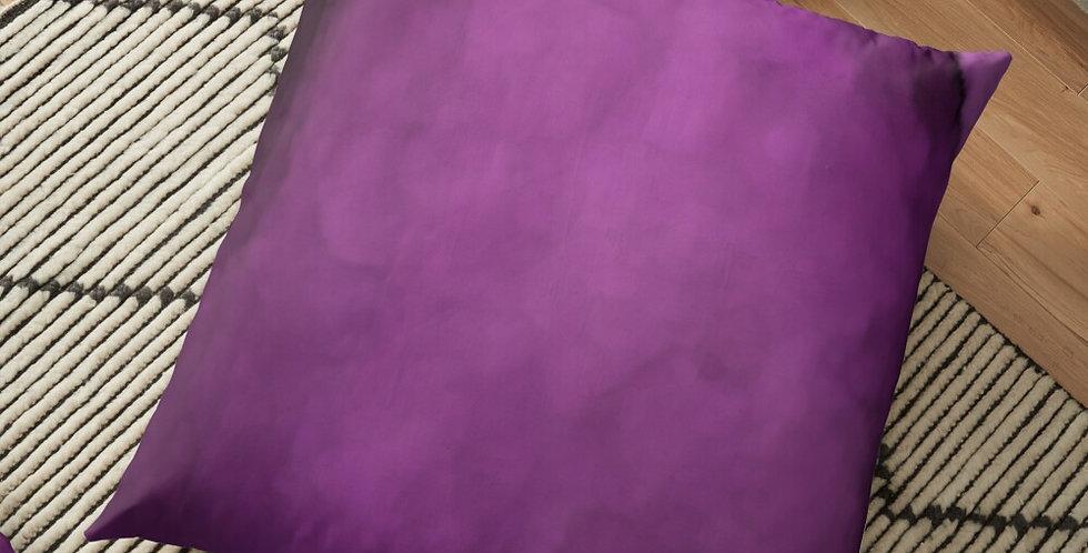 Rainbow Iris - Waterwash Pink - Cushion Cover