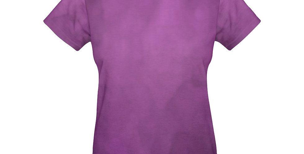 Rainbow Iris Washed Pink - T-shirt