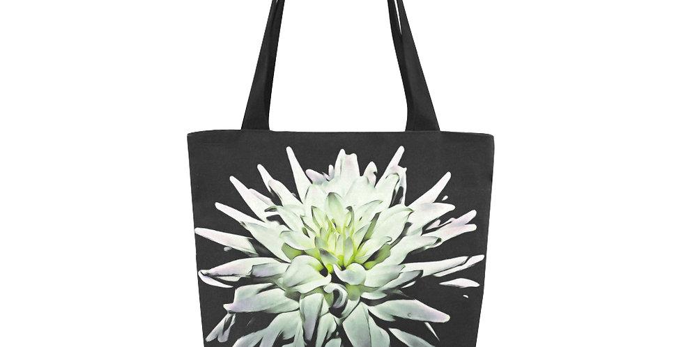 Margar White Dahlia - Tote Bag