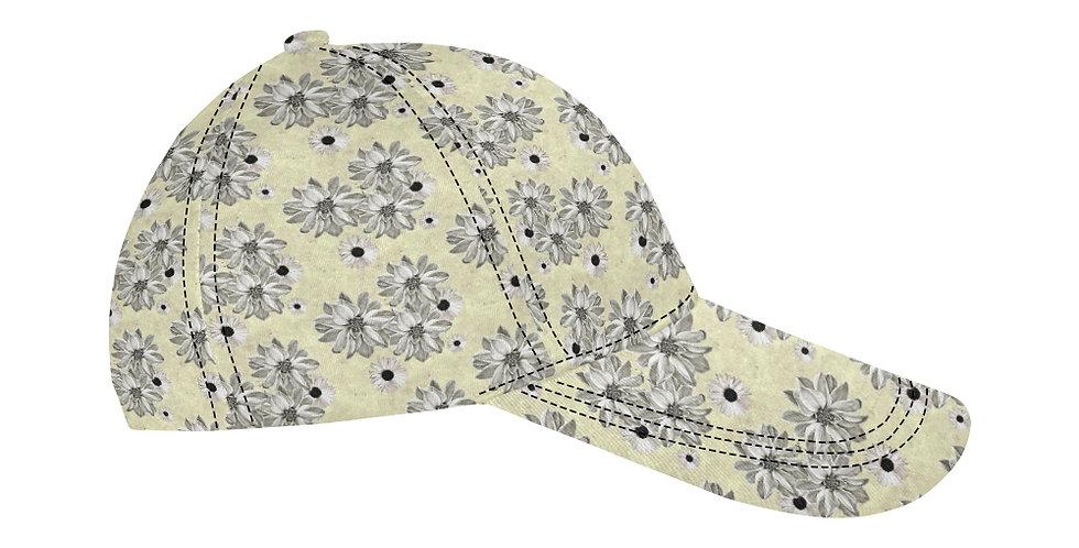 Floral Lemon - Baseball Cap