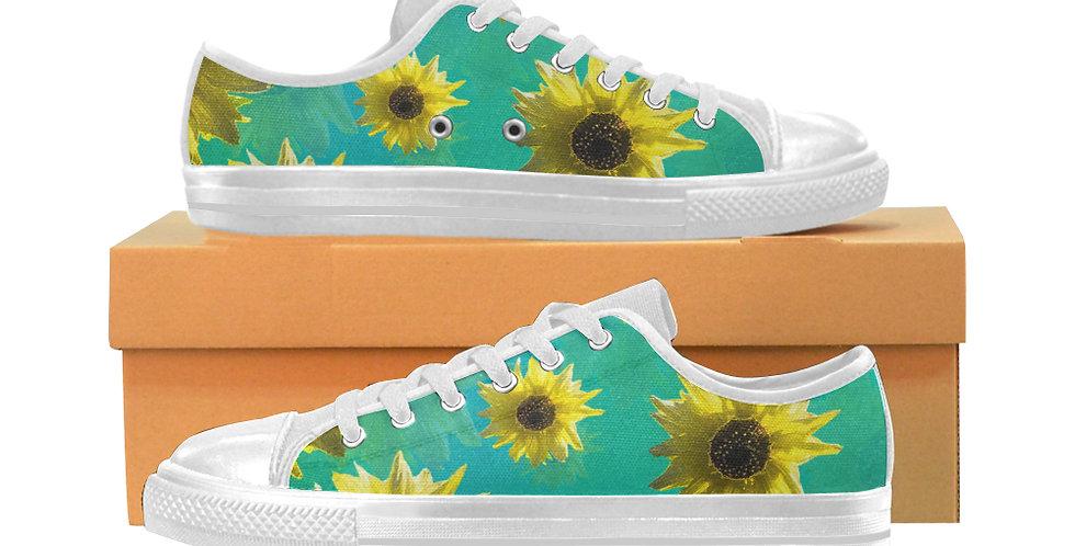 Sunflower - Women's Canvas Sneakers