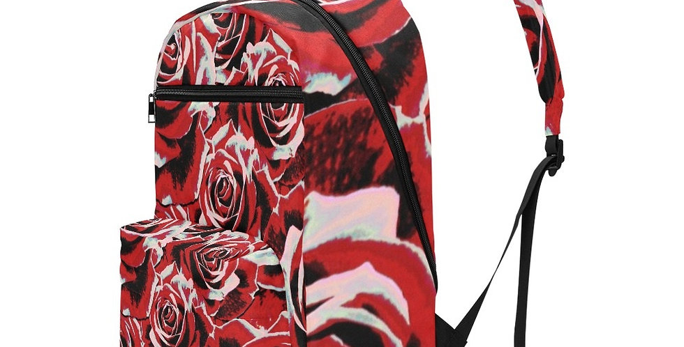 Gypsy Rose Passion - Travel Backpack (Large Capacity)