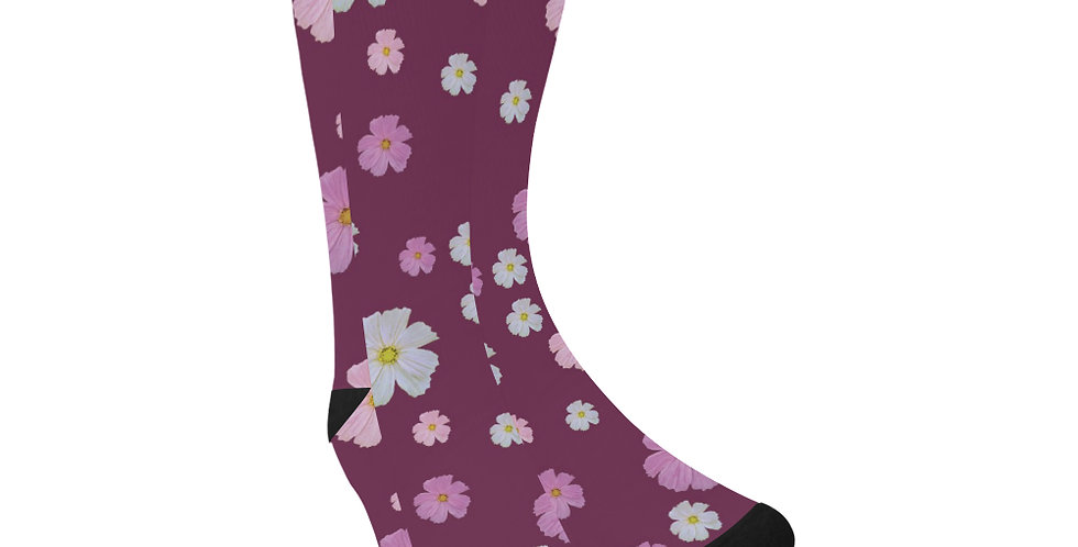 Cosmos & Wine - Unisex Socks (Made in Australia)