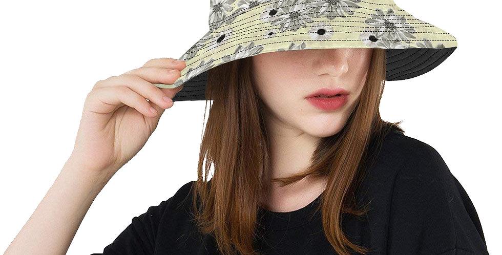 Floral Lemon - Bucket Hat