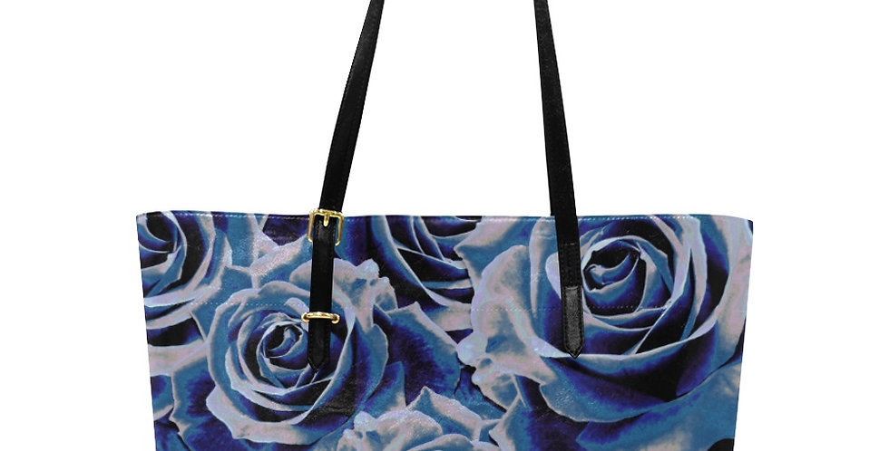Gypsy Rose Persian Blue - Large Tote Bag