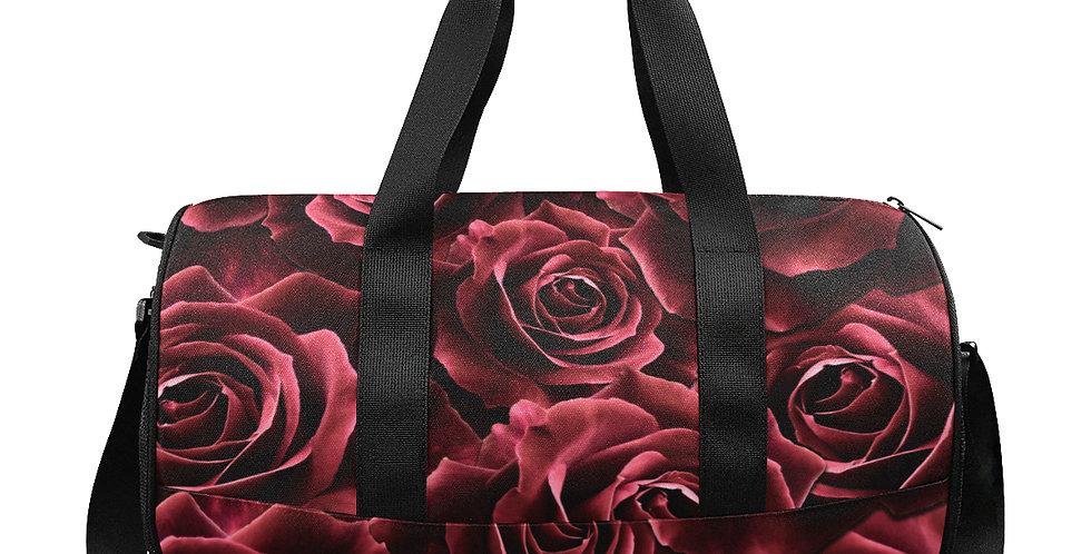 Velvet Roses Red - Gym / Workout / Camping / Travel D