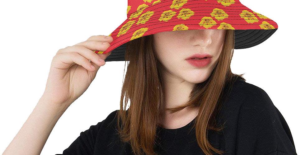 Ladybug Nasturtium - Bucket Hat