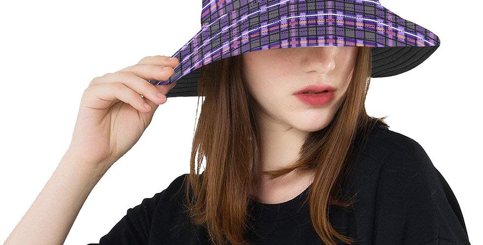 Tartan Terror Purple/Mauve - Bucket Hat