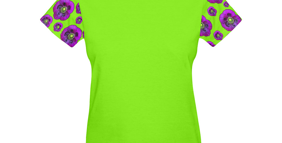 Purple Poppies - T-shirt