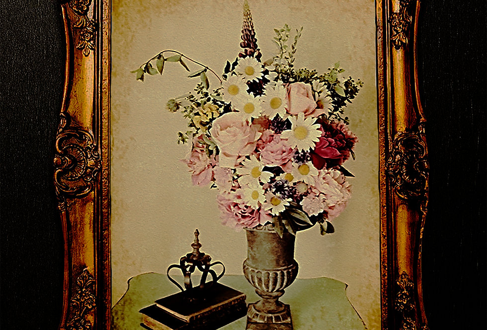 Antique Roses and Peonies