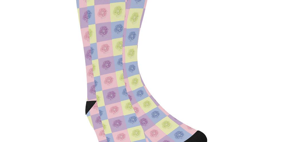 Pastel Poppies - Unisex Socks (Made in Australia)