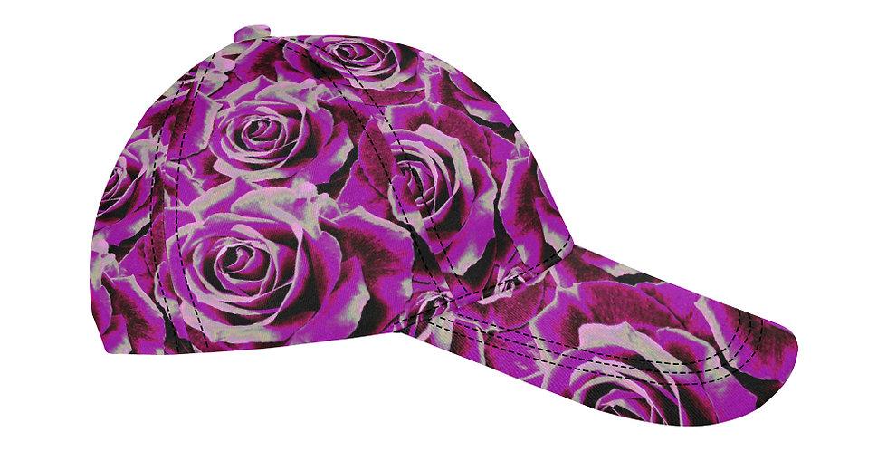Gypsy Rose Party Pink - Baseball Cap