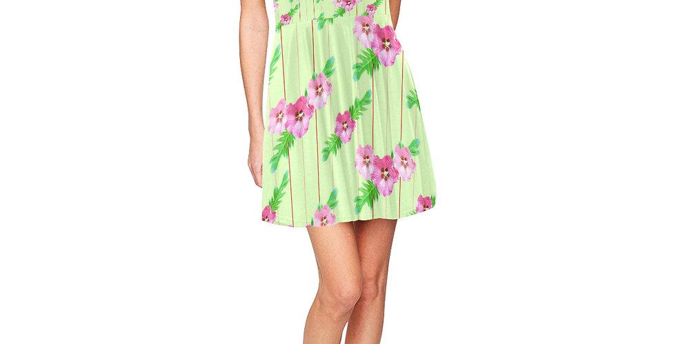 Xanadu Green - Skater Dress