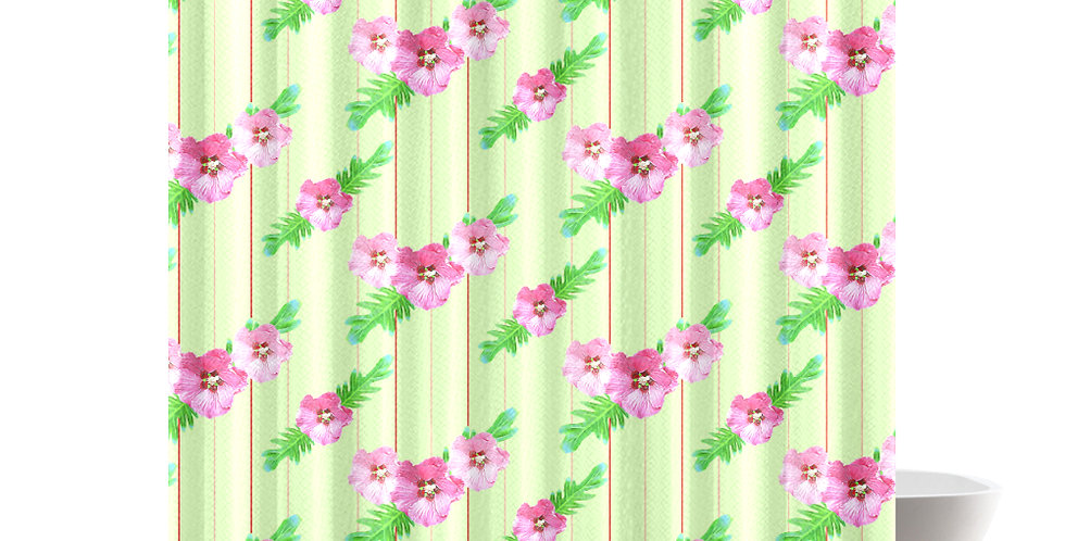 Xanadu (small print) - Shower Curtain