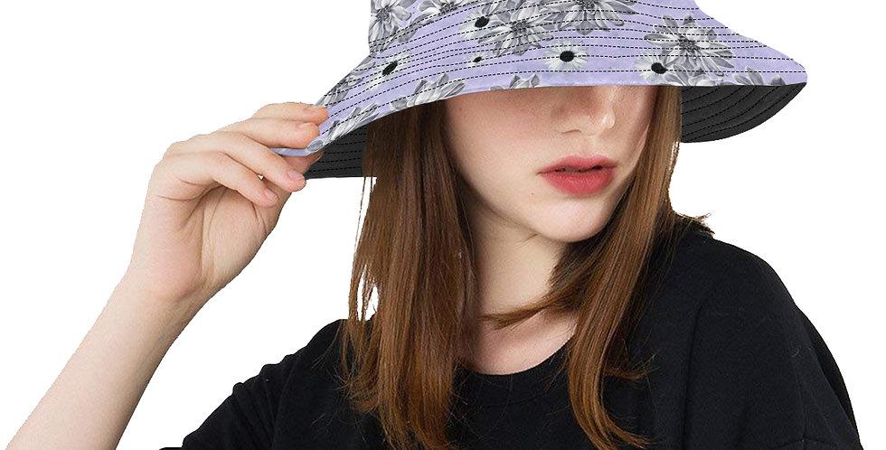 Floral Mauve - Bucket Hat
