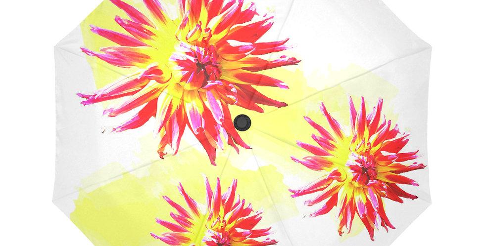 Dahlia Fireworkds - Botanical Umbrella