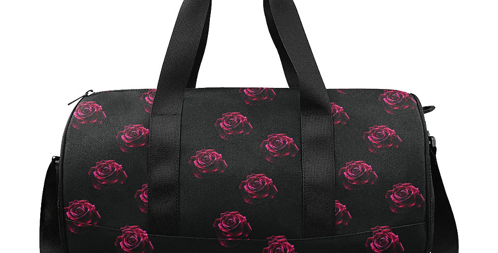Red Red Rose - Gym / Workout / Camping / Travel Duffel Bag