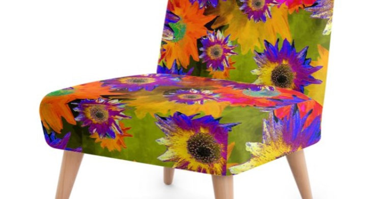 Strawflower Sizzle - Multi - Occasional Chair