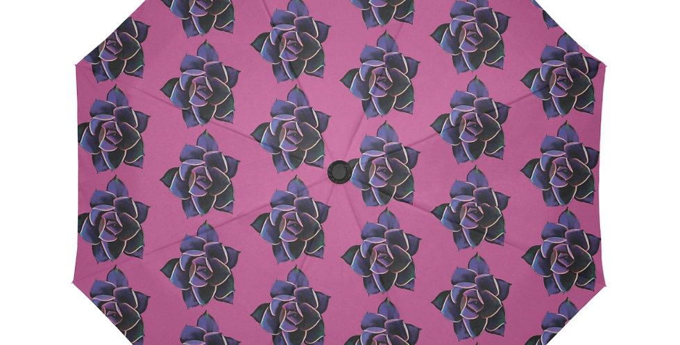 Pink Succulent (small print) - Botanical Umbrella