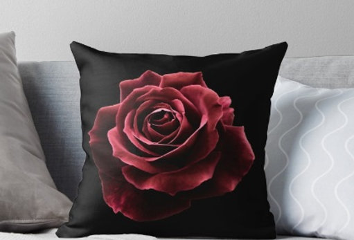Red Red Rose Cushion Cover