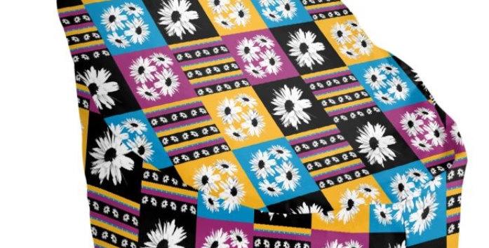 Daisy Love Patchwork - Bean Bag Cover