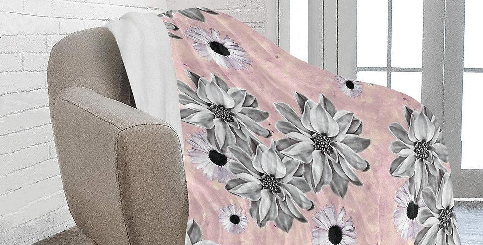 Blush Floral - Blanket