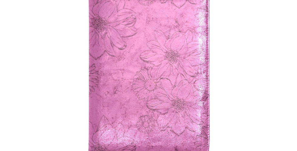 Embossed Floral Pink - Journal