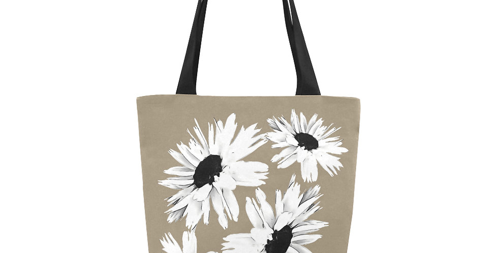Daisy Love Brown - Tote Bag