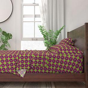 8445122-purple-poppy-on-lime-green-backg