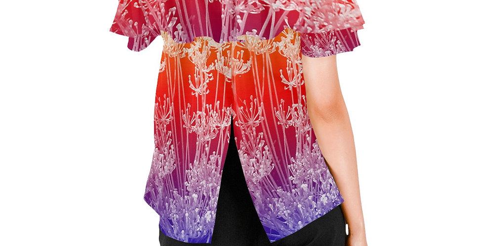 Bold & Bright - Women's Chiffon Blouse
